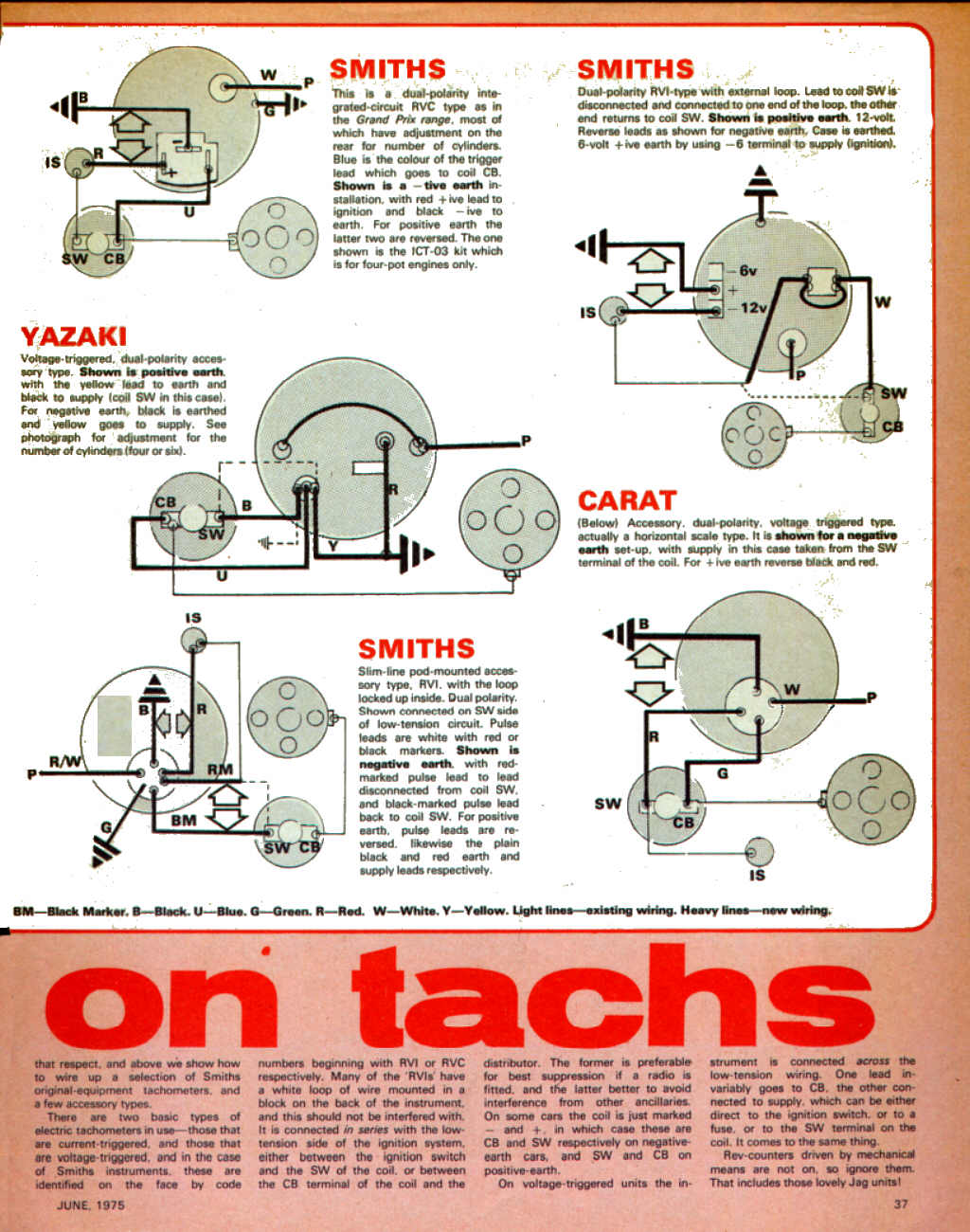 dual tachometer wiring diagram tachometers aka rev counters electrical instruments by  tachometers aka rev counters