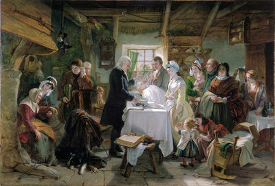 Baptism in Scotland by J Phillip RA 1850.jpg and