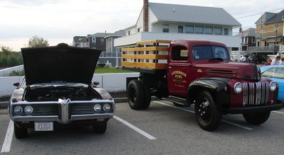 pontiac and coal truck.JPG and