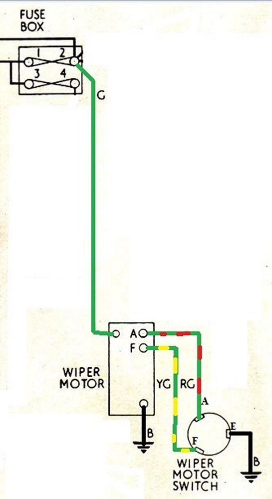2 speed wiper motor wiring diagram wiper motor wireing diagram needed electrical instruments by  wiper motor wireing diagram needed