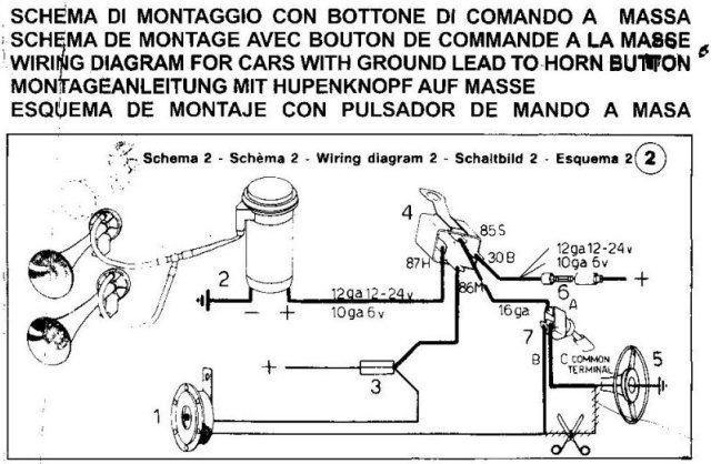 Wiring An Air Horn Good Electricians