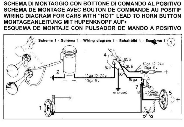 Electronic Air Horn Schematic Wire Diagram For 98 Chevy 2500 Begeboy Wiring Diagram Source