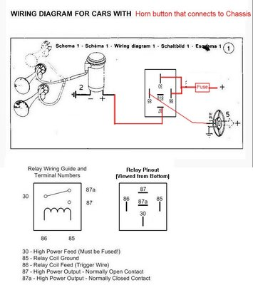 wiring an air horn  good electricians/advice appreciated