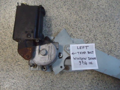 Left Window Arm - Temp. Bolt Position_Rear View.JPG and